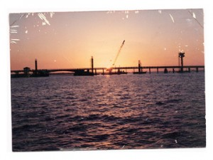 Connie Bailey of Santa Rosa Beach took this photo of the bridge under construction.
