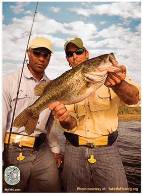 Anglers get free goodies for buying a 5 year freshwater for Freshwater fishing license