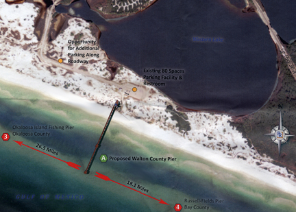 Could a saltwater fish hatchery and fishing pier in the for Saltwater pier fishing