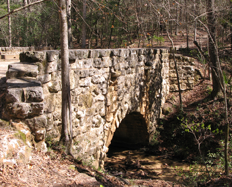 Stone bridge built by