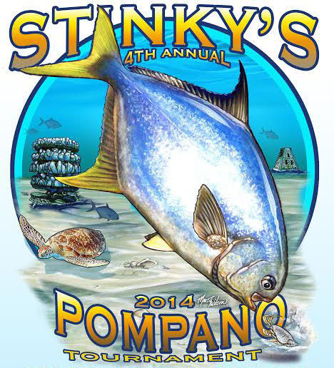 Stinky 39 s annual shoreline pompano tournament april 1 may for Stinkys fish camp