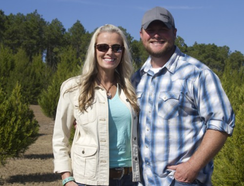 Linda and Cody Strickland welcome you to Strickland's Christmas Tree Farm in DeFuniak Springs. Lori Ceier/Walton Outdoors