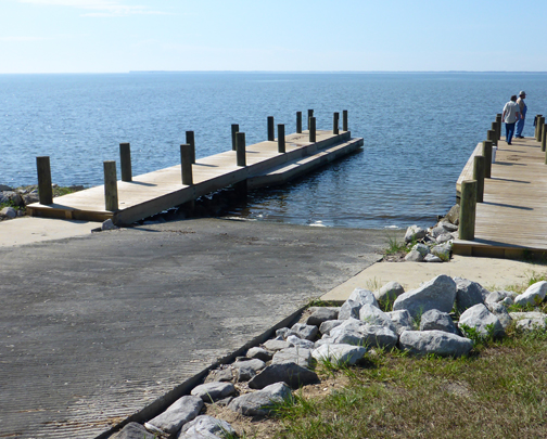 New boat ramp at Choctaw Beach Park. Lori Ceier/Walton Outdoors