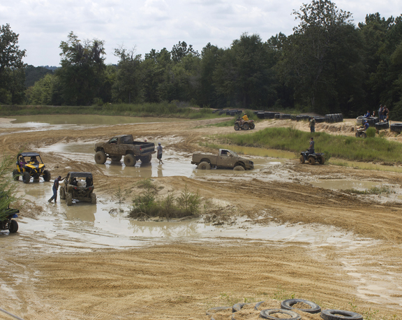 The Mud Pit. Lori Ceier/Walton Outdoors