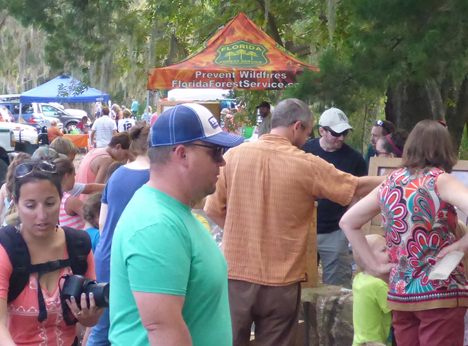 It was a busy day with more than 800 attendees at the festival. Lori Ceier/Walton Outdoors