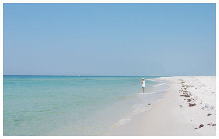 Learn surf fishing at topsail hill preserve state park may for Surf fishing destin fl