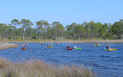 Grayton Beach Park Kayak Rental