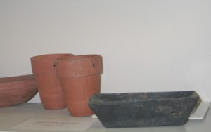 Turpentine pots are on display at the Coastal Branch Library. Lori Ceier/Walton Outdoors