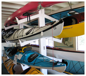The Kayak Experience in Destin has both cockpit and sit on type kayak types. Lori Ceier/Walton Outdoors