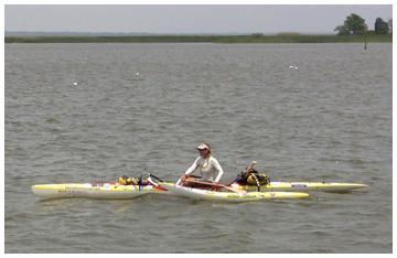 Margo Pelligrino arrived in Apalachicola May 12.