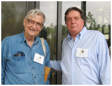 Dr. E.O. Wilson and M.C. Davis at the grand opening of the E.O. Wilson Biophilia Center.