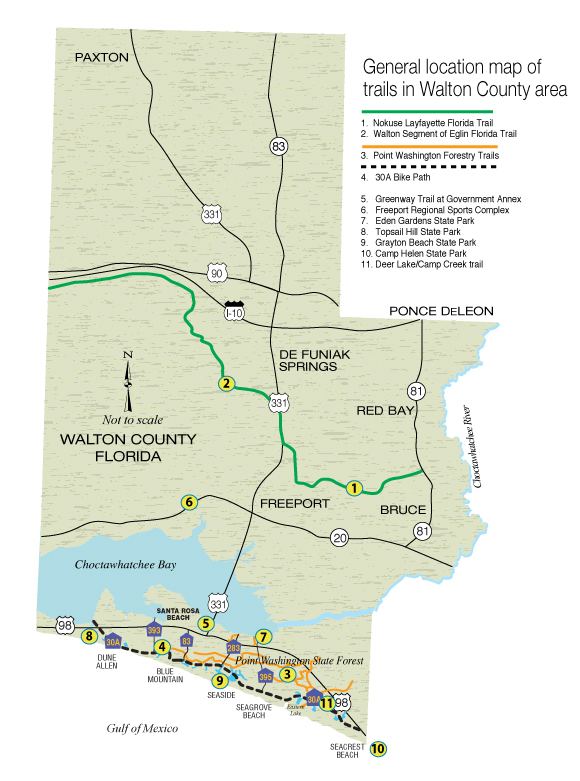 Hiking The Trails In Walton County Walton Outdoors