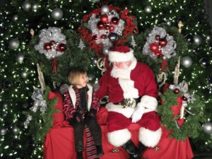 Children had the opportunity to tell Santa what they were wishing for this Chritmas in Seaside Nov. 28.