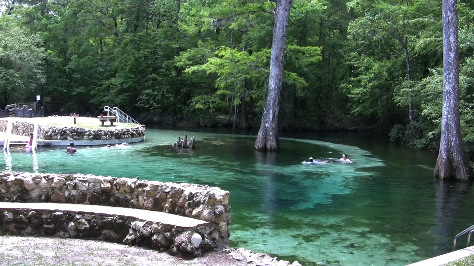 Picnic In The Park At Ponce De Leon Springs State Park