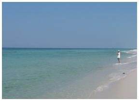 Three miles of pristine beach to explore at Topsail. Lori Ceier/Walton Outdoors