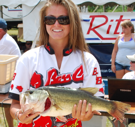 Miss freeport reels in the big one at agla bass tournament for Lake powell fishing license