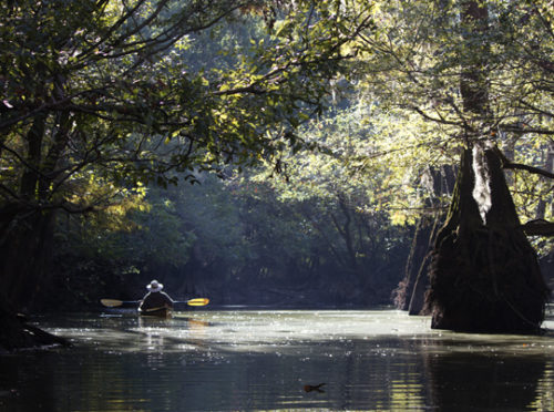 Chain of Lakes is suitable for kayak, canoe, stand up paddleboard and small boats. Lori Ceier/Walton Outdoors