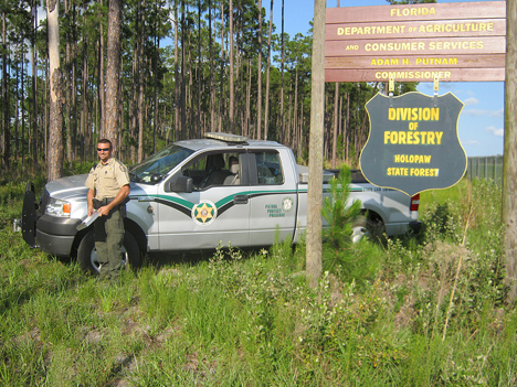 Dep dacs officers to join forces with fwc walton outdoors for Florida fish and wildlife officer