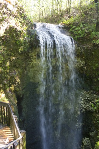 Depending on the recent rainfall, the waterfall at Falling Waters State Park can be strong or a trickle. Lori Ceier/Walton Outdoors