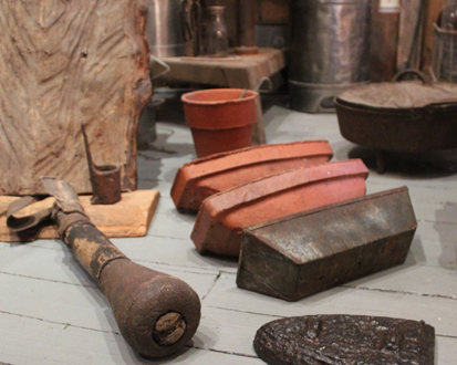 Turpentining artifacts on display at the Walton History Museum. Lori Ceier/Walton Outdoors