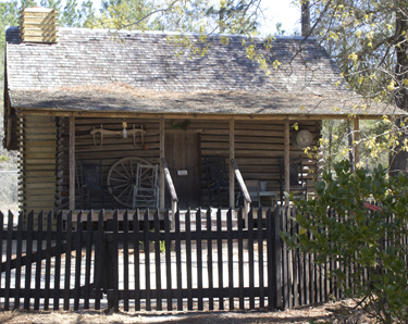 An 1872 home relocated to the Pioneer Settlement. Lori Ceier/Walton Outdoors
