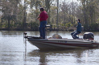 Folks enjoying fishing along the Mitchell River. Lori Ceier/Walton Outdoors