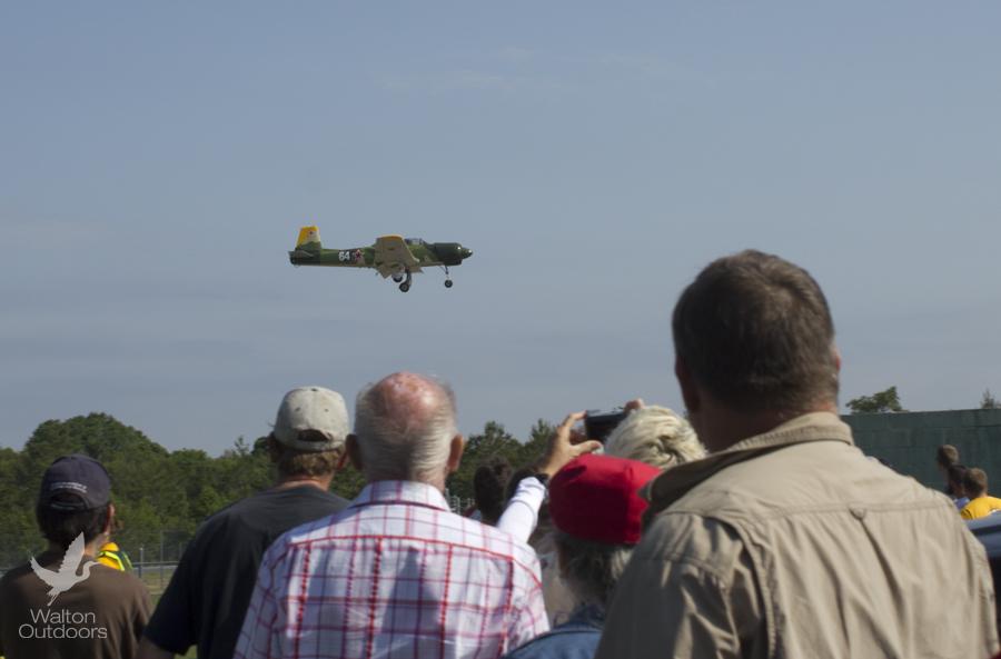 The crowds were wowed by the aeronautical acrobats. Lori Ceier/Walton Outdoors