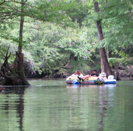 Spring Creek is popular with tubers. Lori Ceier/Walton Outdoors