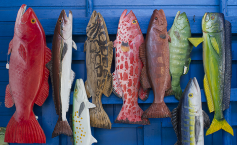 Pick your favorite salt water fish at Elmore's Landing in Santa Rosa Beach. Lori Ceier/Walton Outdoors