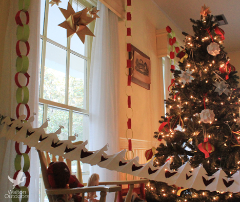 The children's room was decorated with hand made ornaments from the students at South Walton Montessori Academy. Lori Ceier/Walton Outdoors