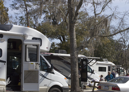 Skinnie Winnies lined up at Live Oak Landing in Freeport. Lori Ceier/Walton Outdoors