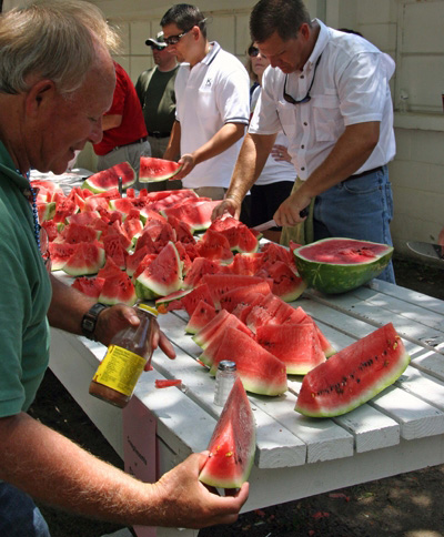 Enjoy the Watermelon Festival southern style. Photo courtesy Goulding Agency