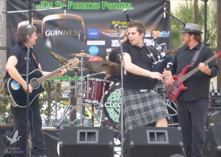 CLEGHORN will be one of the featured bands at the St. Patrick's Day fest.