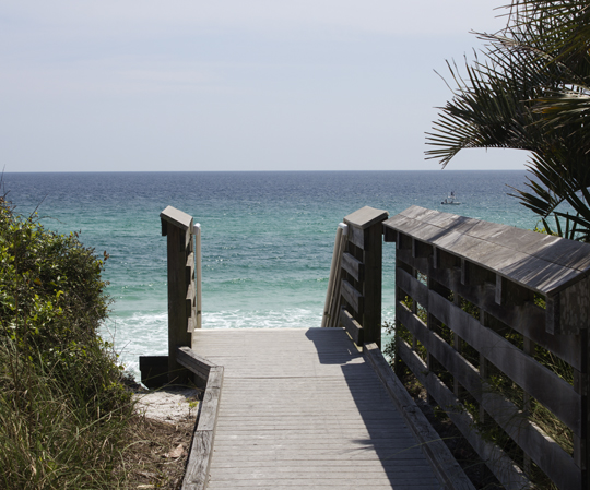 Live Oak Beach access in Seagrove Beach. One of the several accesses donated to Walton County by the McGees. Lori Ceier/Walton Outdoors