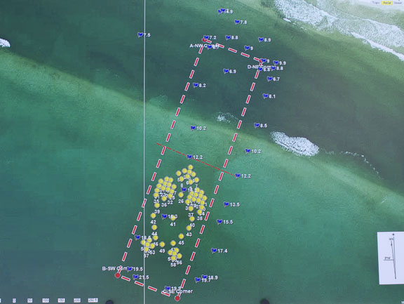 Florida Artificial Reefs Map.South Walton Has New Artificial Reef Off Of Grayton Beach State Park