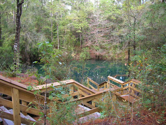 Devils Hole. Photo courtesy Northwest Florida Water Management