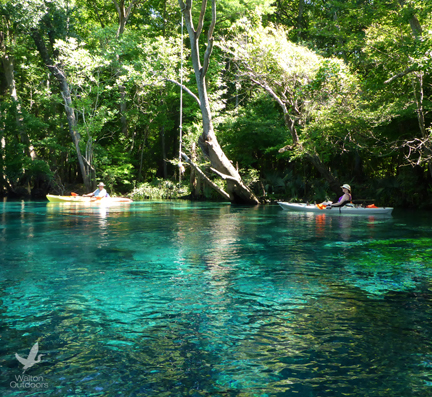 Holmes Creek offers great paddling experiences. Lori Ceier/Walton Outdoors
