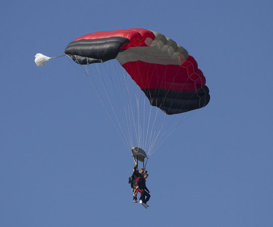 Learn to skydive or enjoy a tandem jump experience at Skydive North Florida. Lori Ceier/Walton Outdoors