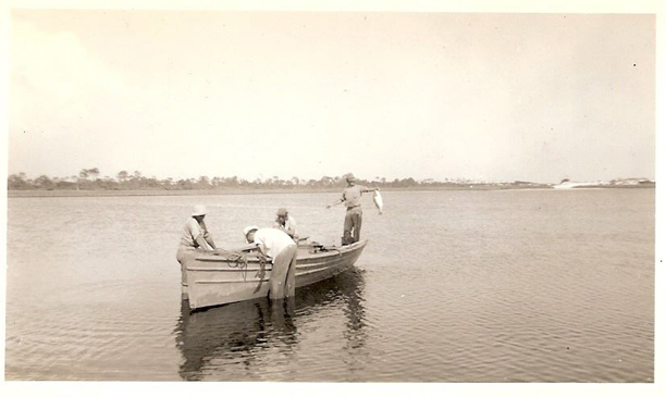 Tuff Smith And Friends Returning To Western Lake From Fishing At Grayton Beach 1940 Photo