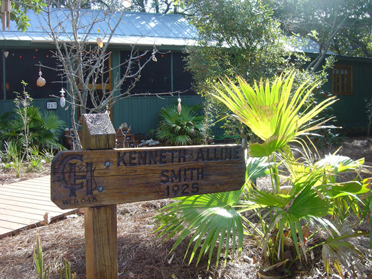 The Smith house in Grayton Beach still stands today. Photo courtesy Brenda Rees