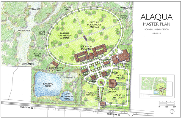 Phase I o new Alaqua Animal Refuge facility.