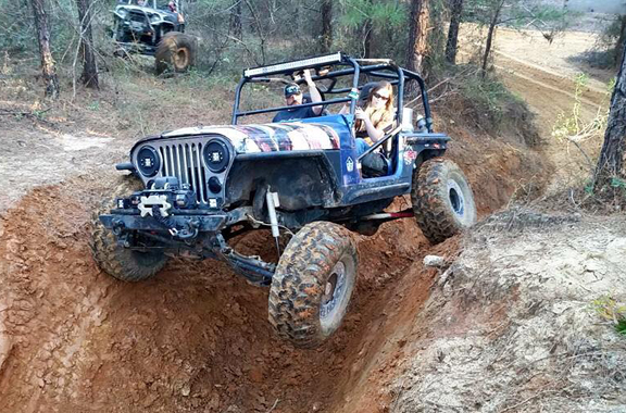 Four-wheel fun for all skill levels at The Swamp. Photo courtesy Southern Attitude Crawlers